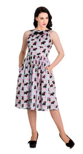 hell bunny scottie dog dress