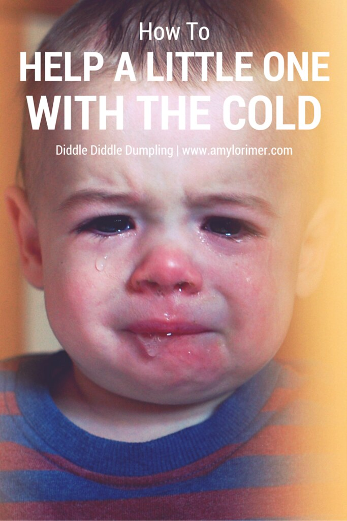 Tips on helping a baby, toddler, infant or child when they're choked with the cold.
