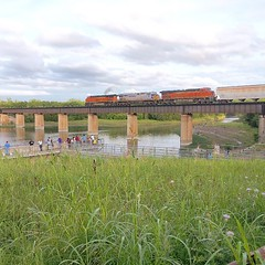 #BNSF reroute on #KCS #GreenvilleSub Wylie, TX