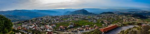 ehden lebanon hdr nikon sky pano panoramic mountain village town zgharta