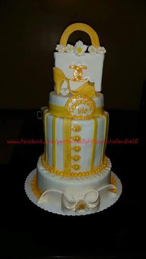 Chanel Cake by Michel Lou Tan Chu