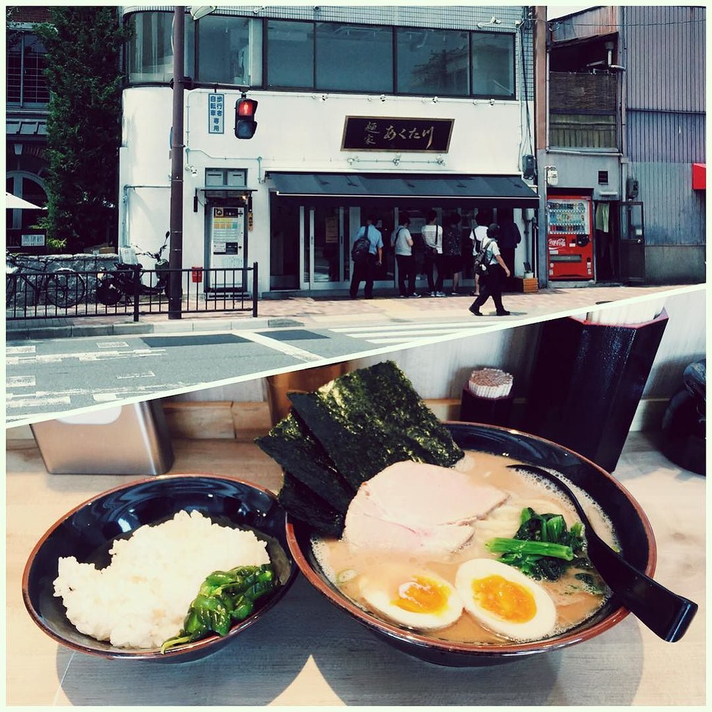 関西の横浜家系ラーメン屋 京都・今出川の麺家あくた川
