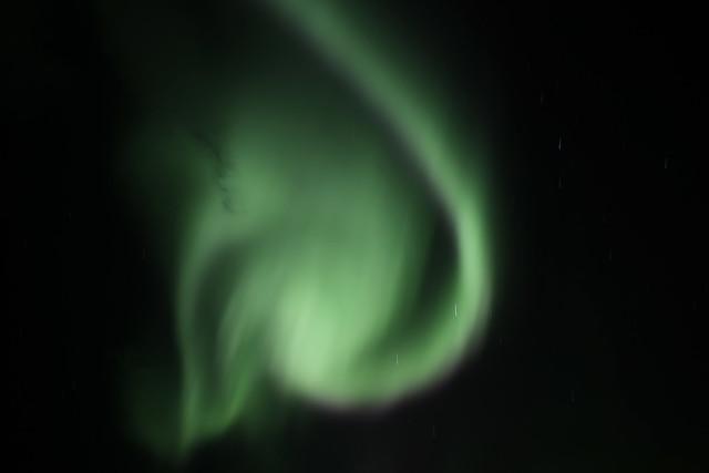 The Northern Lights above Þingvellir National Park