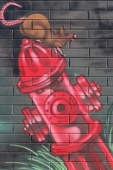 Wall Art, Stafford St, Adelaide CBD