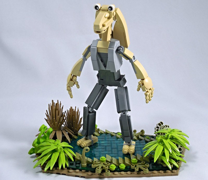 Jar Jar, by vitreolum, on Eurobricks
