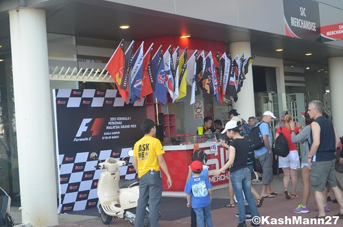 F1 Driver Number Flags