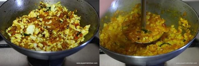 cauliflower-masala dosai
