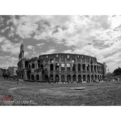Colosseum. New entry on my blog - Facts of the Colosseum with monochrome images pls visit www.indahs.com   #colosseum #coliseum #flavian #Rome #Roma #Italy #traveling #travelgram #city #bnw_captures #blackandwhitephotographylovers #monochromephotography #