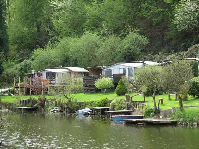 Campingplatzidyll an der Ruhr