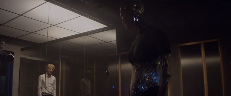 Alicia Vikander and Domhnall Gleeson tell the same old story in a slightly different way in EX MACHINA.