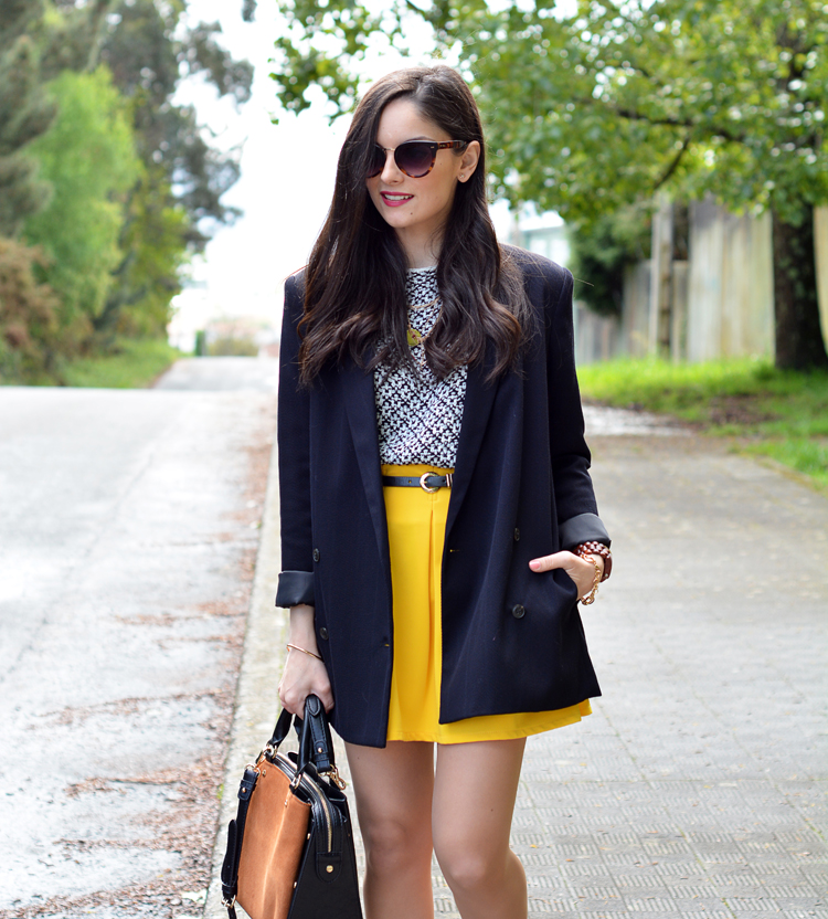 Zara_ootd_outfit_yellow_animal_print_blazer_06