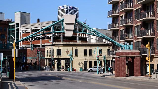 Historic Third Ward Sign on Water Street Bridge