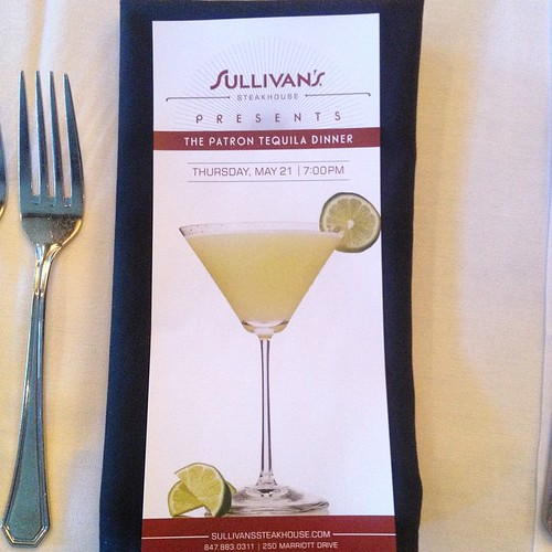Sullivan's Steakhouse: The Patrón Tequila Dinner
