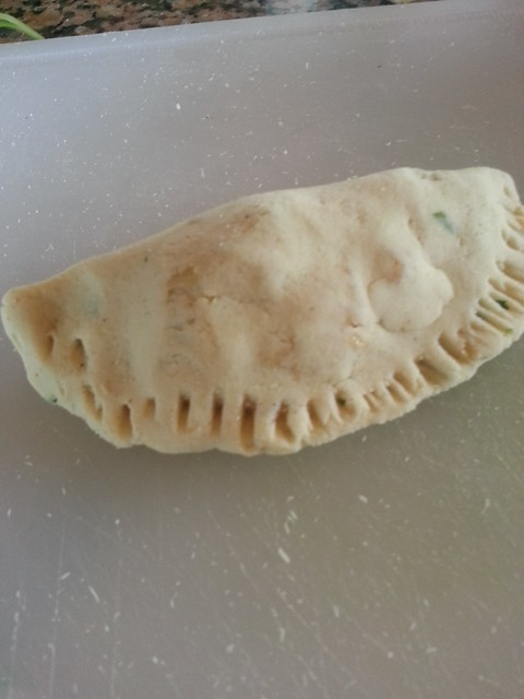Empanadas Before Frying