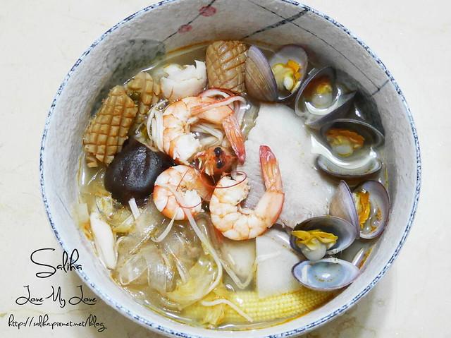 泰式海鮮酸辣冬粉食譜 (4)