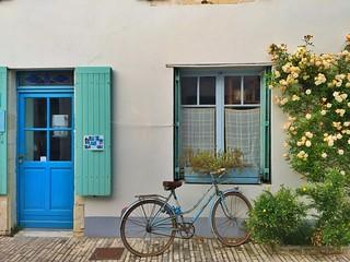Bicicleta en Ars-en-Ré (Isla de Ré)