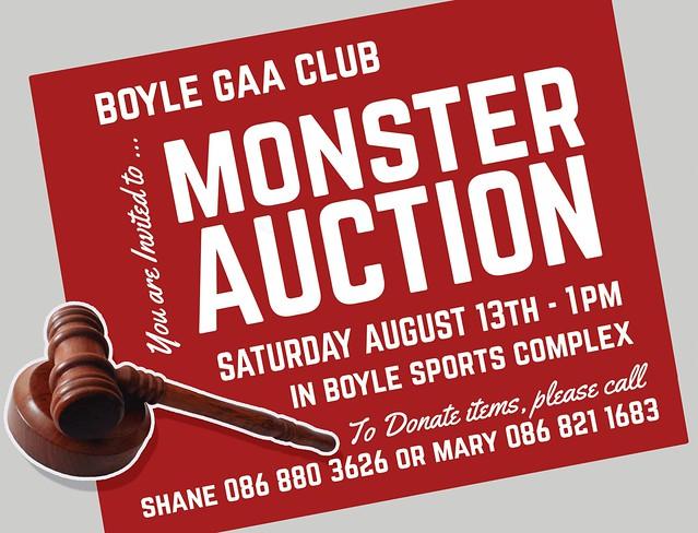 GAA Monster Auction