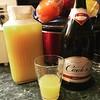 This is happening.  Brut courtesy of Costco- $7.59 #olywa #drunkenbreakfast #mimosasunday