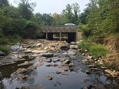 Downstream limits of project under Cabin John Parkway