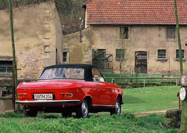 peugeot 204 coupe cabrio 14