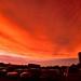 火燒的天空