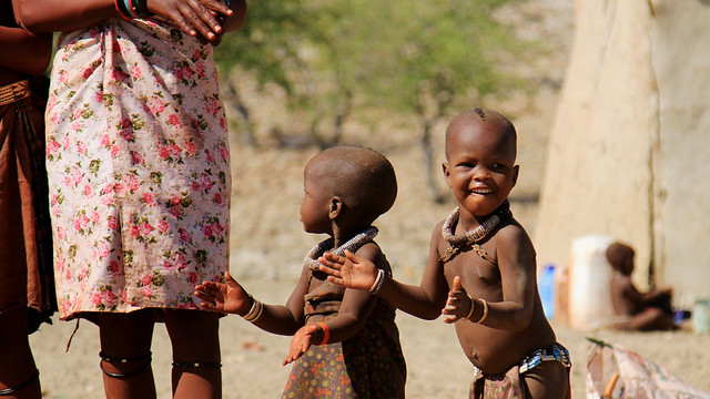 Himba village children - Namibia.