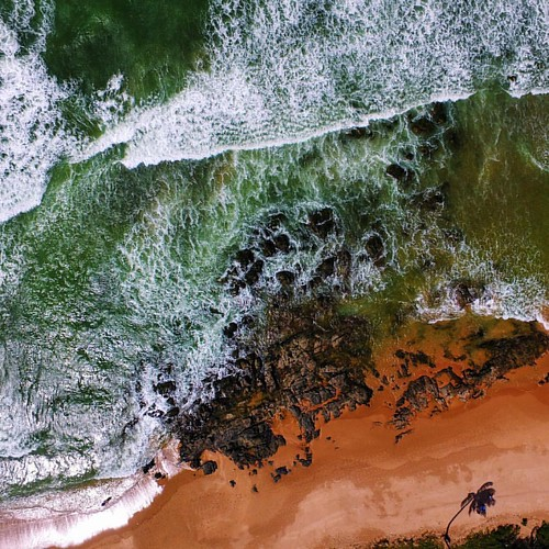 #fromwhereIdrone at the Beach | Busca Vida • Bahia • Brasil | 31.07.2016 • Follow @lubrito_ontheair & @ludosmundos