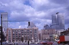 Centre-ville de Montréal, secteur Notre-Dame et Windsor. – Vers 1964. VM94-Ad-013-010. Archives de la Ville de Montréal.