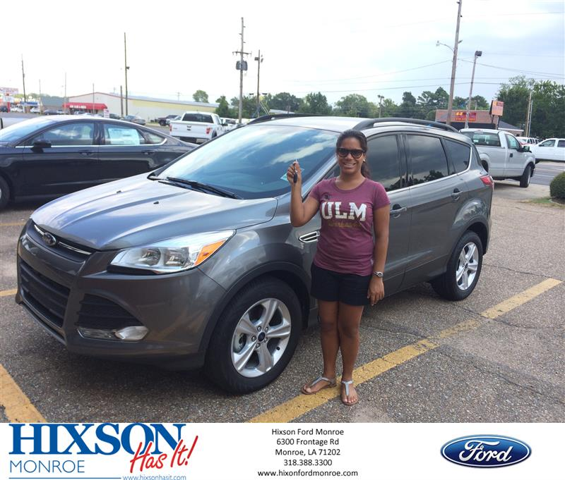 Hixson Ford Monroe >> Happyanniversary To Terrance And Your 2014 Ford Escape