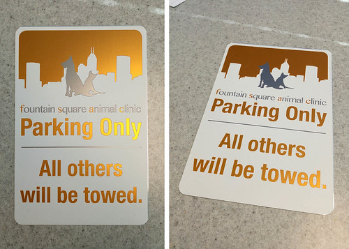 Aluminum / Traffic / Parking Signs