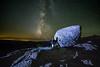 Night Sky Milkyway Lassen Volcanic National Park