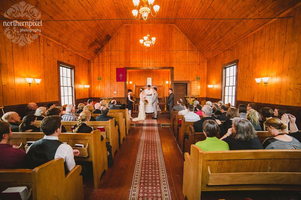 St Stephens Anglican Church - Telkwa British Columbia Wedding