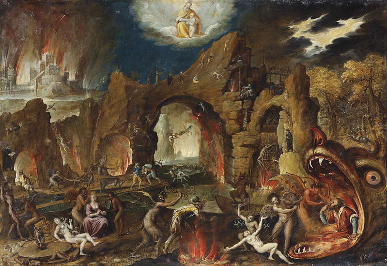 Jacob Isaacsz van Swanenburg - The Harrowing of Hell, 16th-17th century