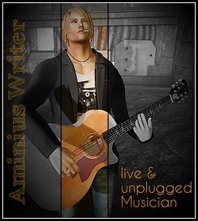 Aminius Writer...amazing rl singer and musician