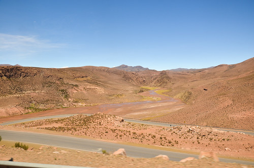 On the road in Argentina - Route 52