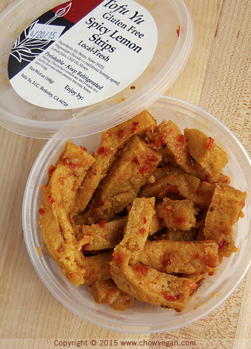Tofu Yu Spicy Lemon Strips