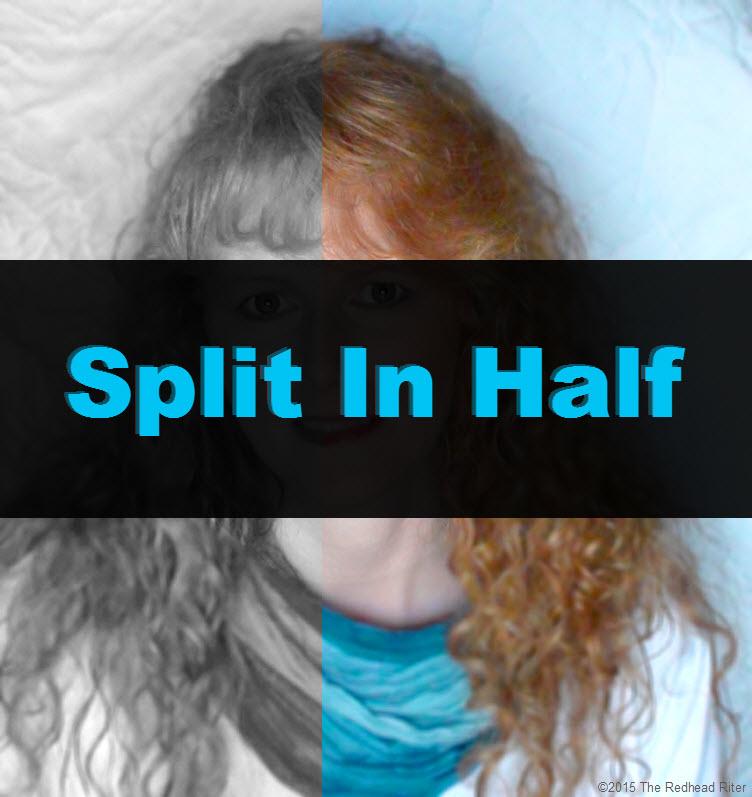 redhead riter split in half tw