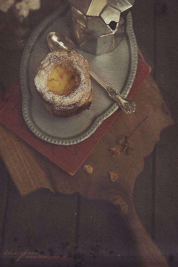 przepis na pasteis - portugalskie ciastka
