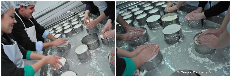 26 - Невероятные приключения москвичек в Каштелу Бранку - quinta - мастер-класс по приготовлению сыра (традиционного португальского)