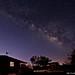Springtime blue hour Milky Way!
