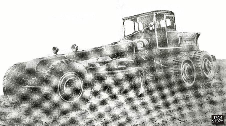 автогрейдер Д-256