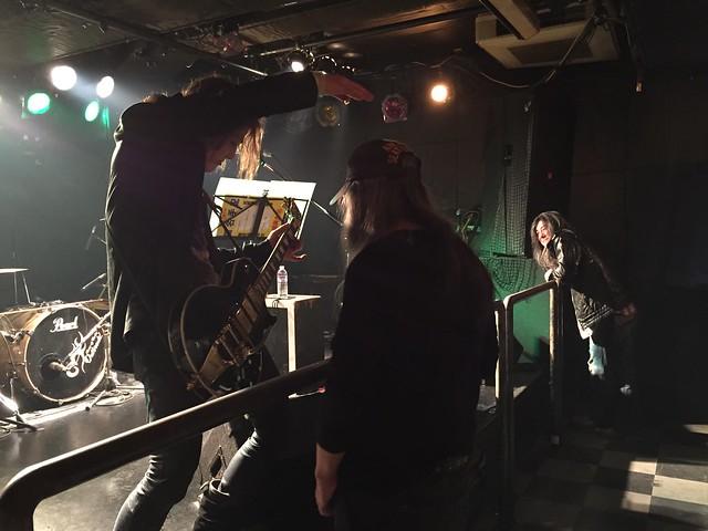 時代という名の踏絵 solo live at Outbreak, Tokyo, 20 Apr 2015. iphone 2880