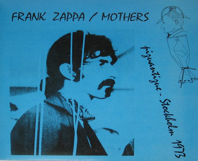 Frank Zappa Piquantique Stockholm 1973 Prog Rock Jazz Lp