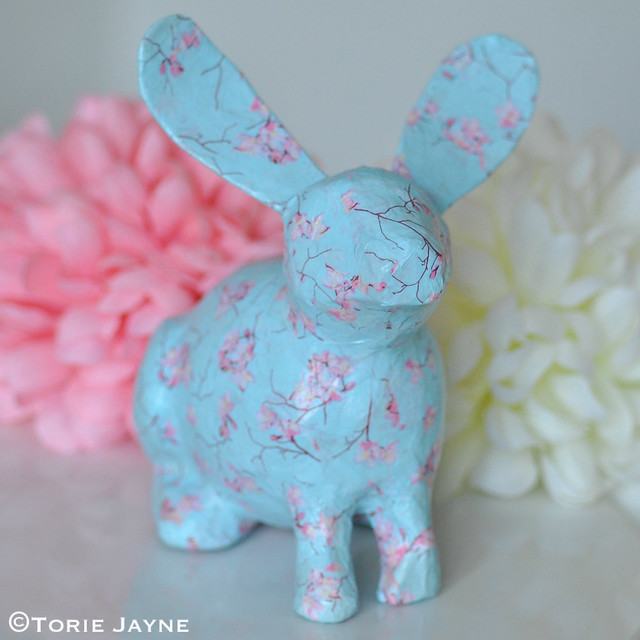 Decoupage bunny 3