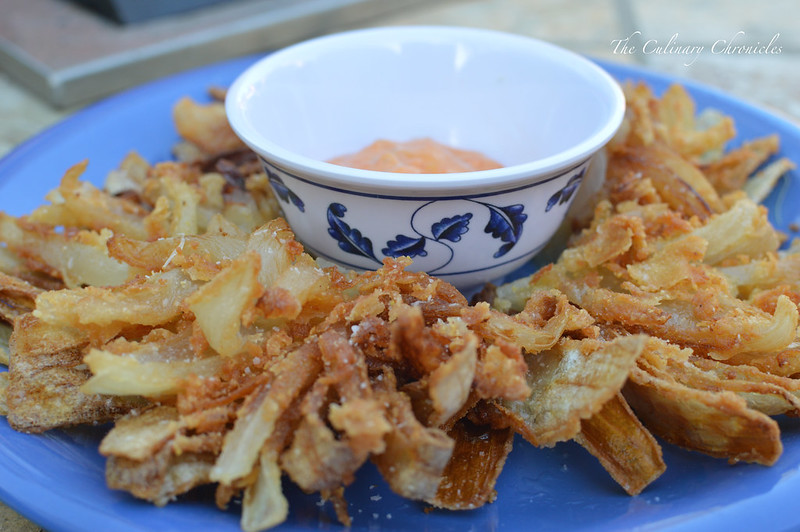 Crispy Blooming Onion