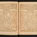 Woodcut opening from Biblia pauperum by University of Glasgow Library