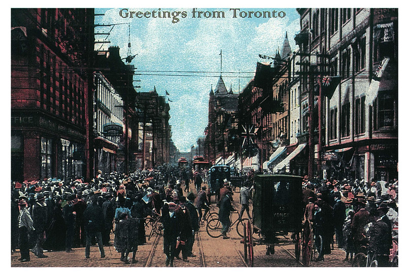 Retro - Toronto - Yonge Street north of King