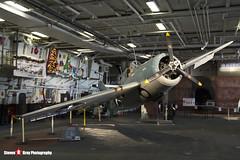 12290 - US Navy - Grumman F4F-3 Wildcat - USS Midway Museum San Diego, California - 141223 - Steven Gray - IMG_6395