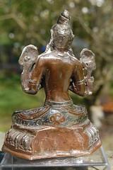 Nepalese Goddess Tara (Back view)
