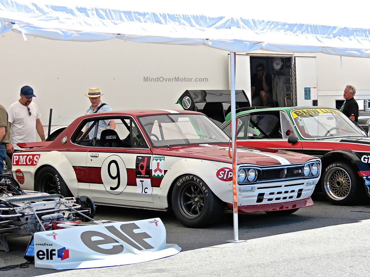 1971 Nissan Skyline 2000GT-R Hakosuka at Laguna Seca
